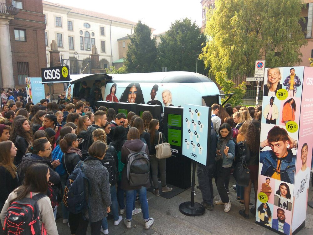 On campus in Emilia-Romagna in Italy.