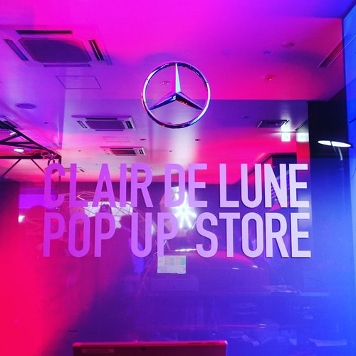 CLAIR DE LUNE POP UP STORE