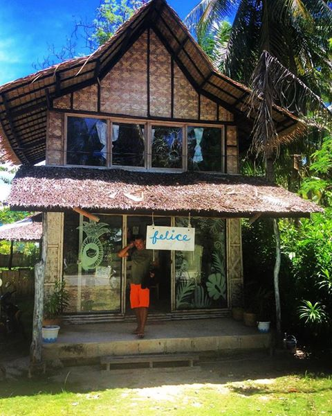 We stumbled upon this gem of a store Felice Island in Siargao this week and they are another perfect host for our beautiful pieces! Along with other chemical free and locally made products they also offer workshops in all sorts of creative techniques to locals and tourists traveling through. The owner Jof is wonderful and passionate about the products she sells and almost immediately recognized our brand! Be sure to stop by if you're coming through.