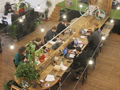 Our quirky co-working space caters to everything that you need, from shared desks to chill out zone to help you stay inspired.