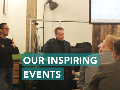 From talks to workshops to help build key skills, we constantly plan events for you. Want to host your own event? Just book the space and the floor is yours!