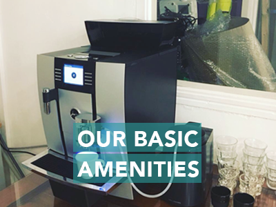 From wifi to our new coffee machine we have got all that you need to keep you going.