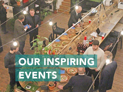 A range of diverse events to learn, get inspired and simply have fun!