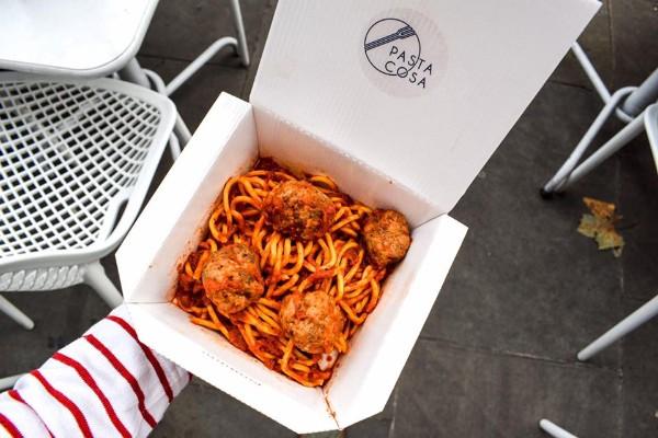 Pasta Cosa (Spaghetti Polpette)