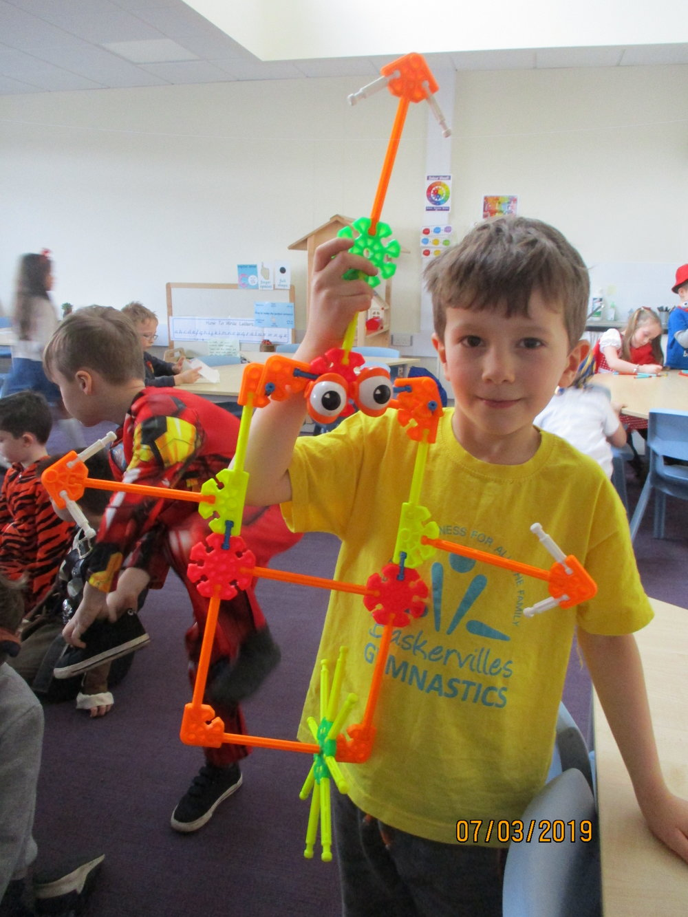 We love being engineers and inventors. Learning through play by designing and creating is one of our favourite things to do together.