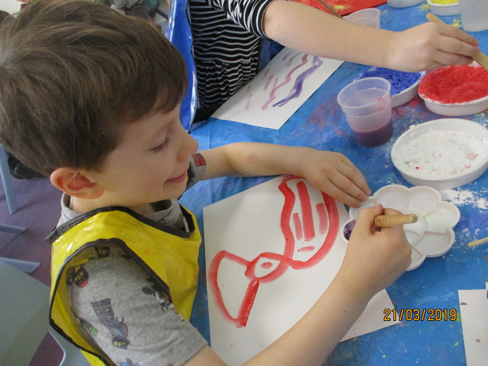 We are all artists. We have been exploring lots of mediums including how to independently colour mix and see the beautiful colours we can make with powder paint. This inspired some painting whilst exploring the Hindu festival of Holi. We will apply these skills to a new, exciting creation in the style of a famous artist soon! Watch this space!