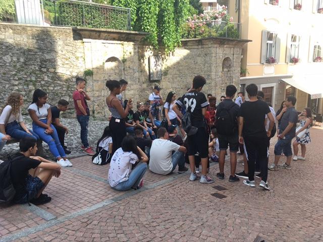 Instruktionen zum Foto-OL in Lugano