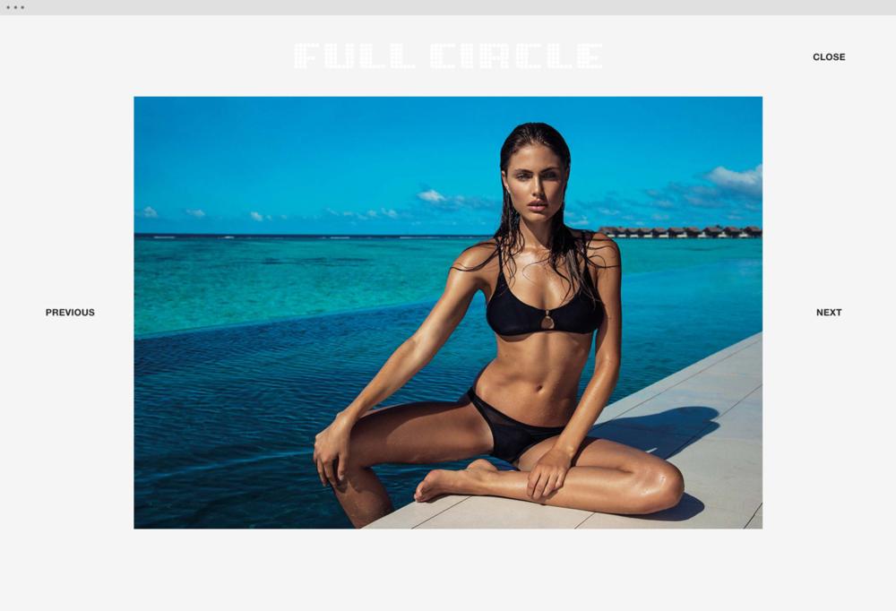 Full Circle Models website 4 - helloVlad.studio
