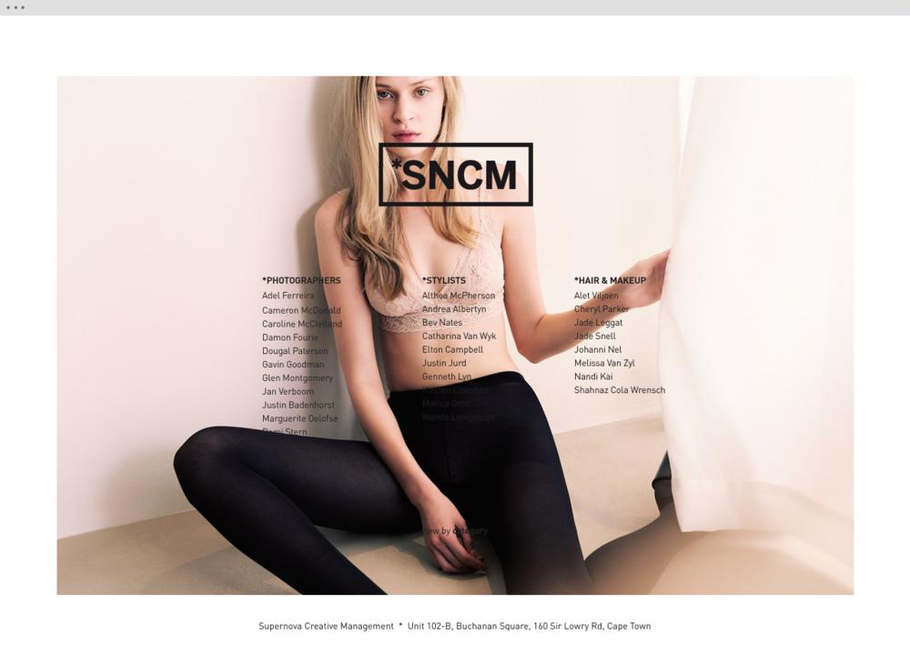 Supernova Creative Management website 2 - helloVlad.studio