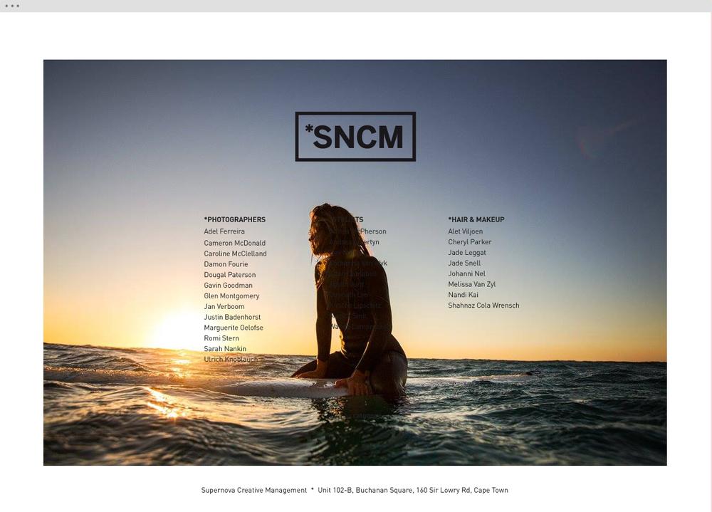 Supernova Creative Management website 5 - helloVlad.studio