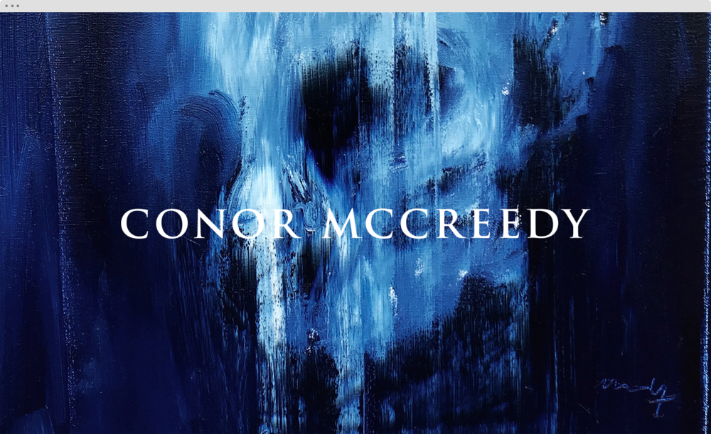 Conor Mccreedy landing 2 - helloVlad.studio