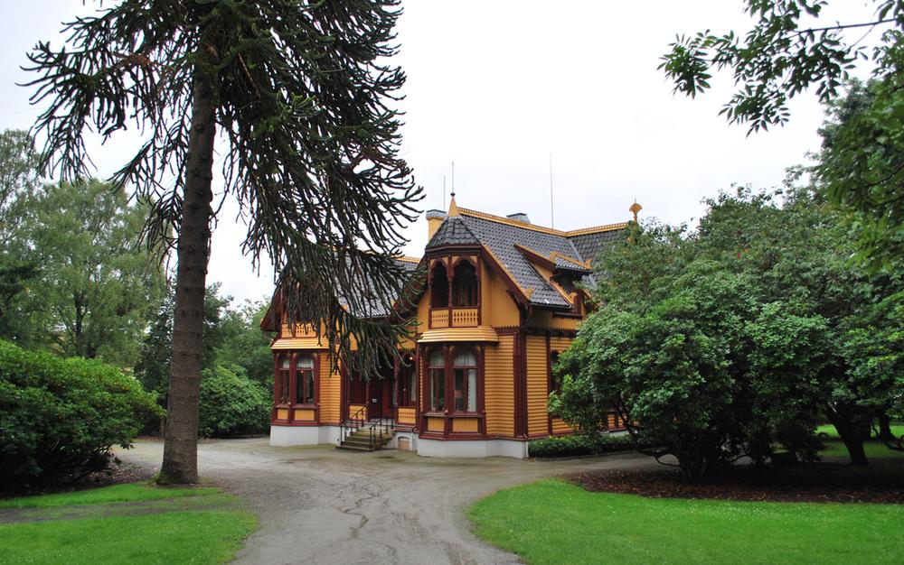 View of Villa Breidablikk, Stavanger
