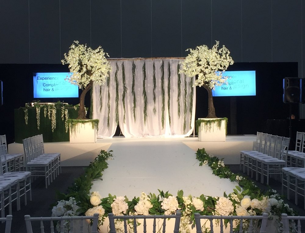 Maple trees Decor Wedding Event Venue indoors