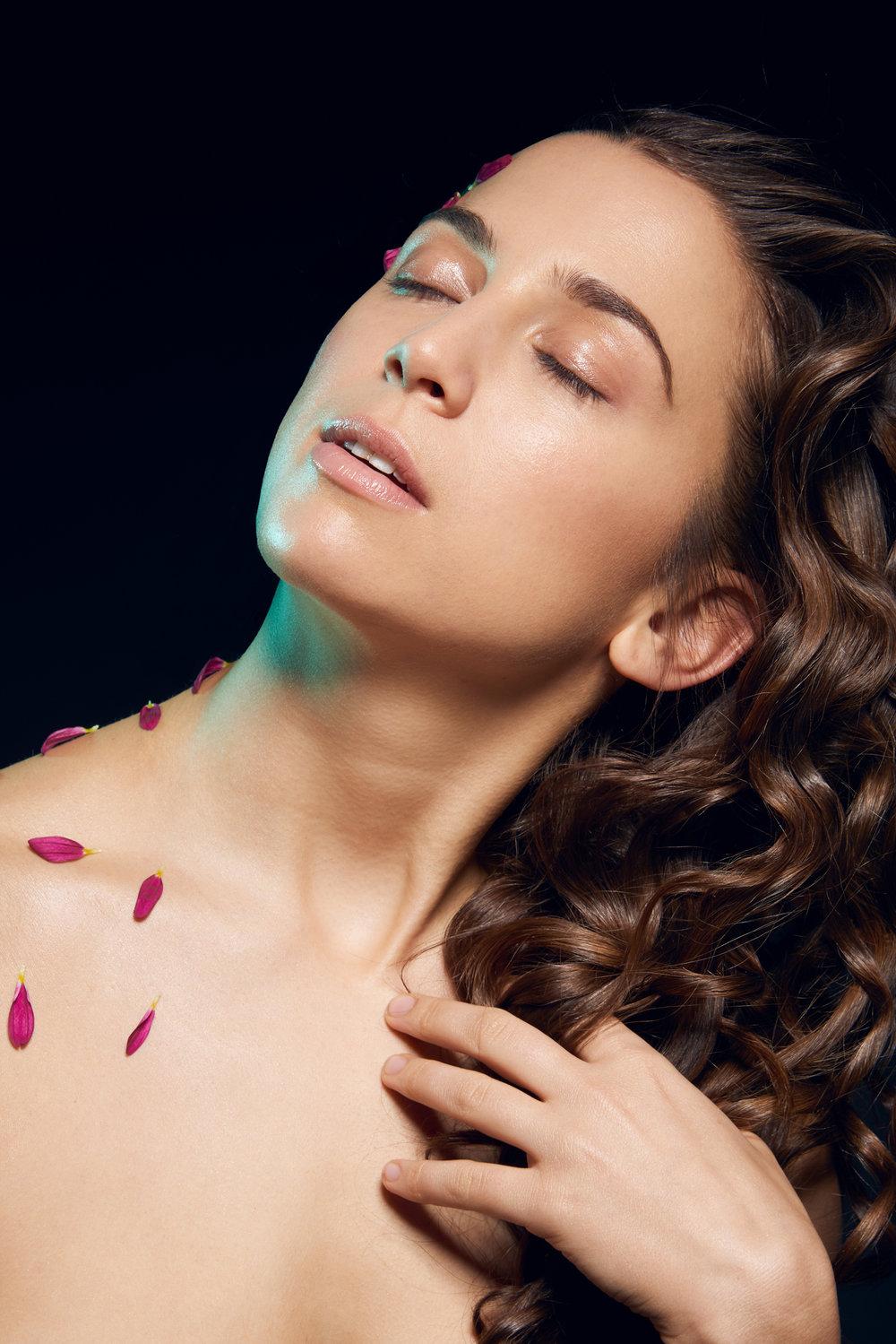 Model: Nicole Vonarx  MUA:Charles Zambrano  Hair Stylist: Helene Marie