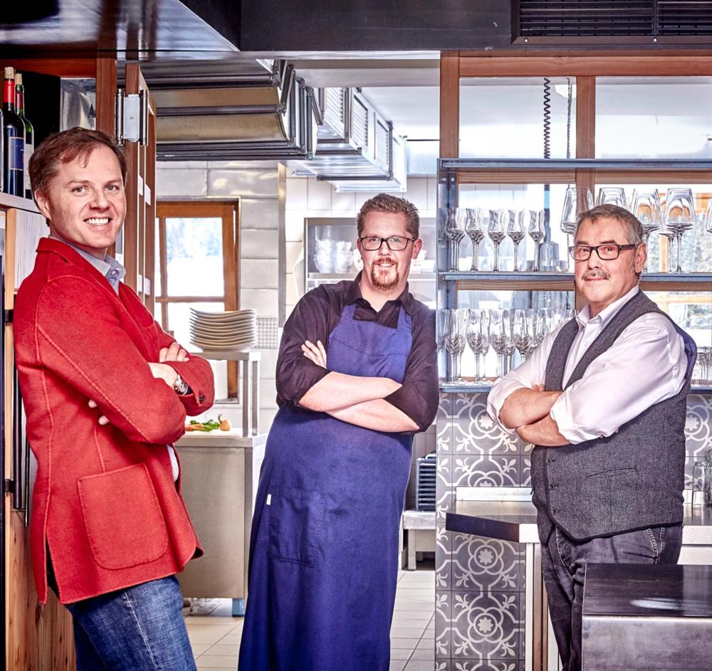 Markus Spitzbart, Max Leodolter und Werner Redolfi
