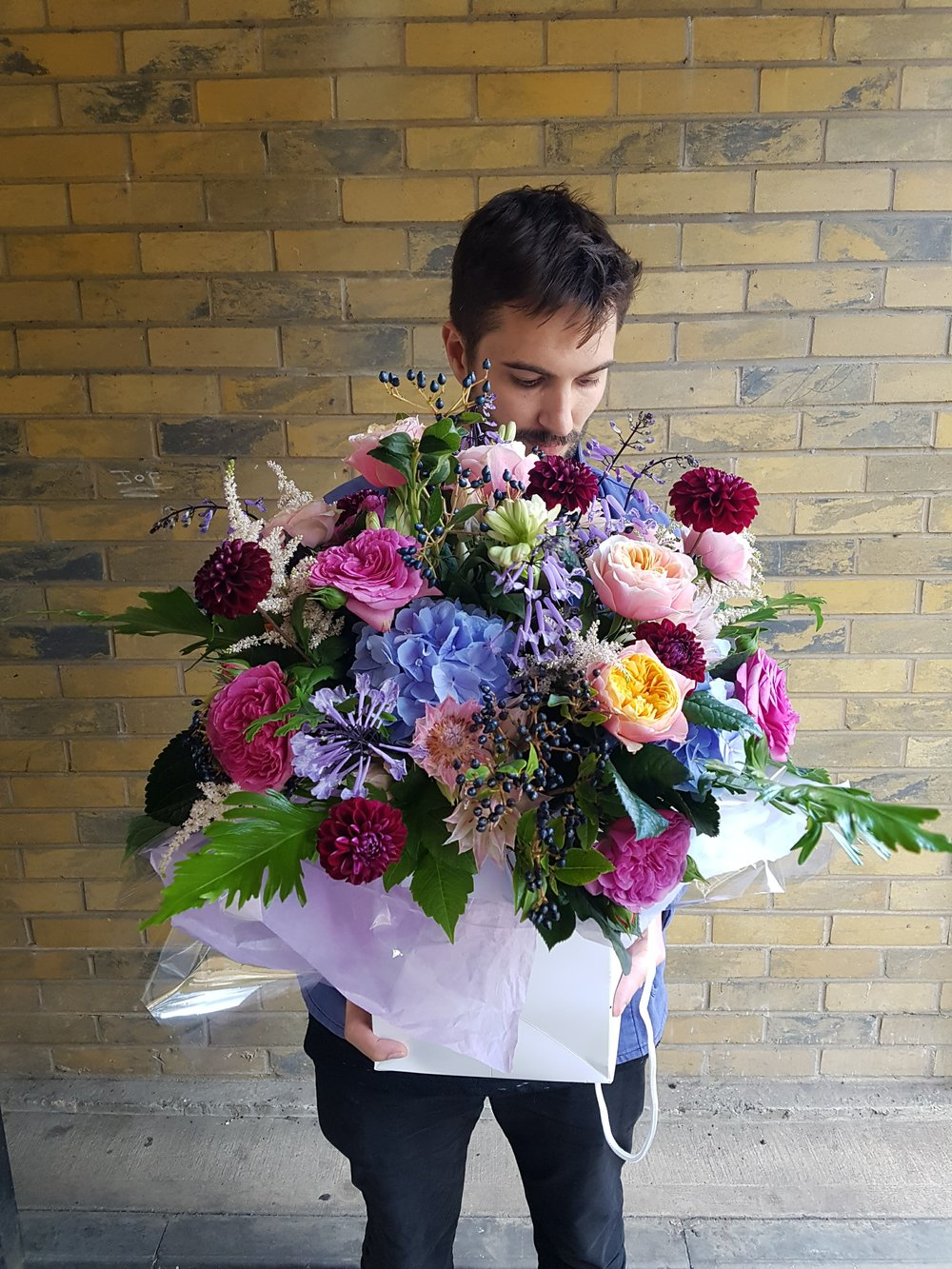 bouquet delivery london