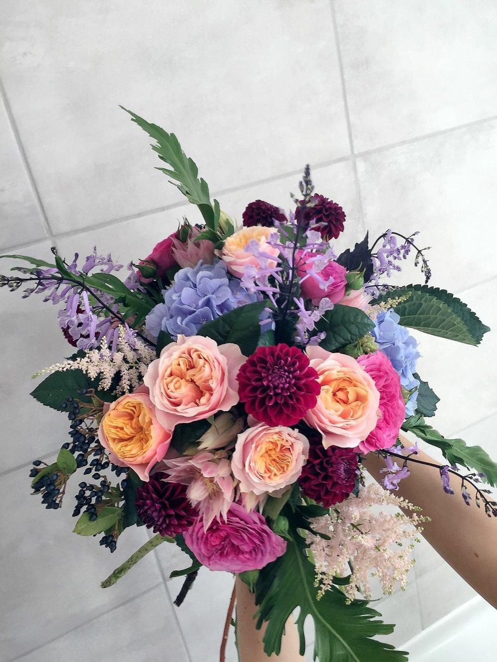 bespoke bouquet order sula bailie london florist gift