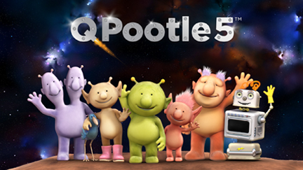 Q Pootle 5 - on CBeebies from 29th July 2013