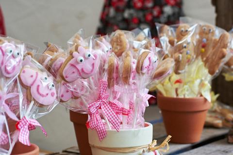 Peppa Pig Pops on sale at the Bishop Auckland Food Festival