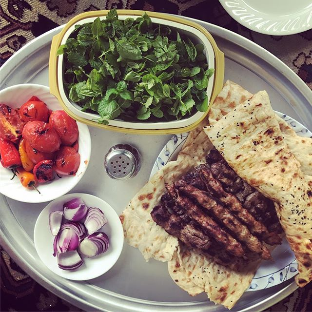 Healthy Persian Kababs! When your Dad's bbq has been long due! So Delicious and healthy!#persiankabab,#bbq,#babajoon,#homecooking