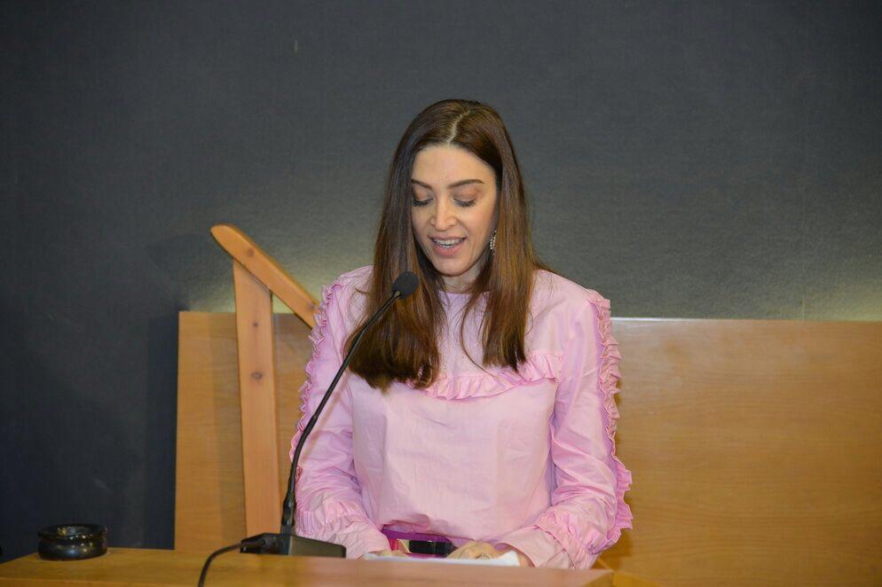 شهادتي في تكريم نازك سابا يارد، معرض أنطلياس