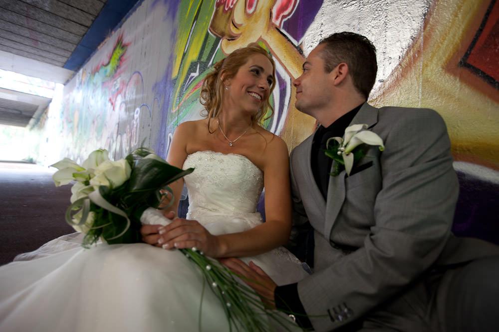 bruidsfotograaf Zoetermeer - Graffitimuur 13
