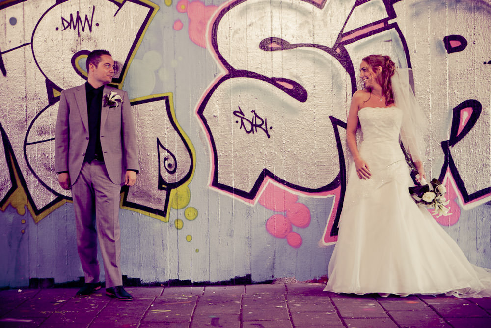 bij de grafittimuur