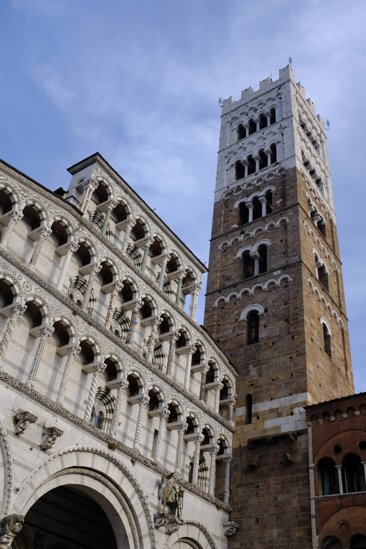 Duomo di San Martino - de bekende kerk van Lucca en zijn mooie plein.