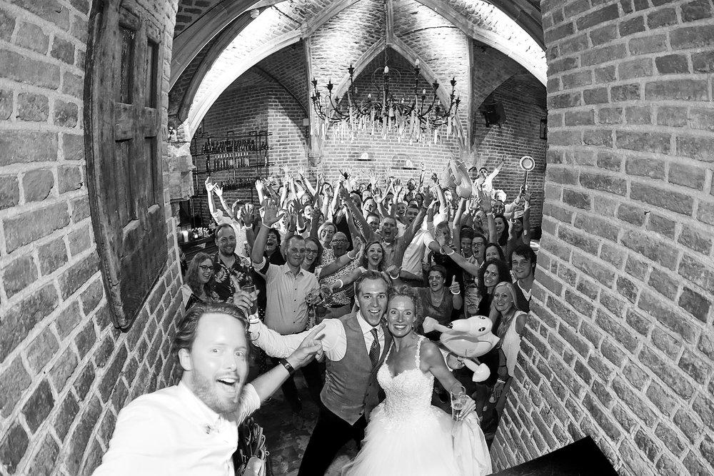 de trouwreportage van David en Januska in Kasteel Duurstede