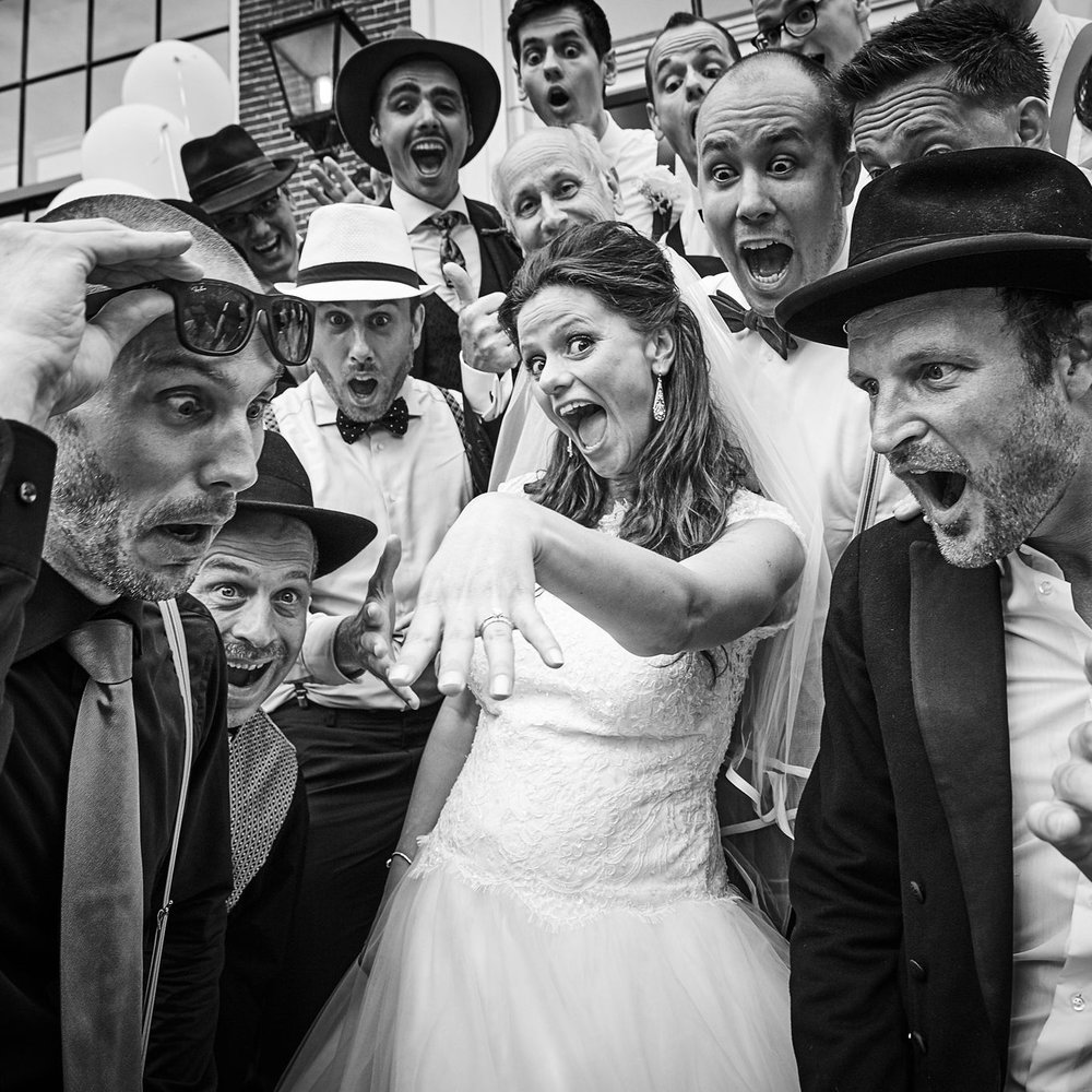 Trouwfotograaf uit Zoetermeer - trouwshoot