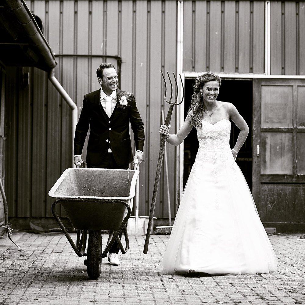bruidsreportage in Zoetermeer