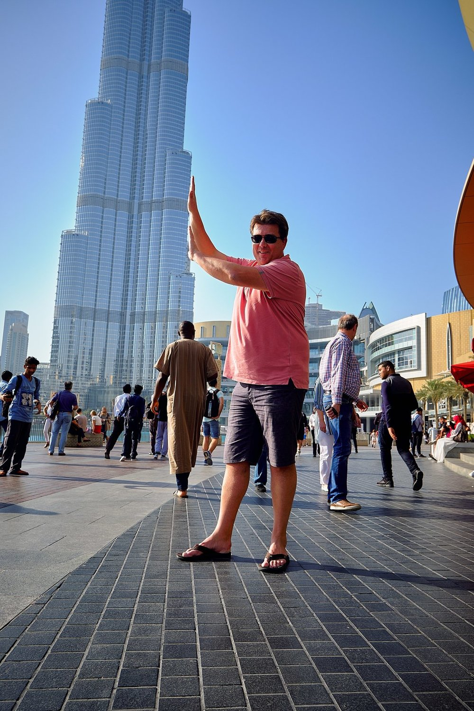 samen met Mathieu naar Dubai