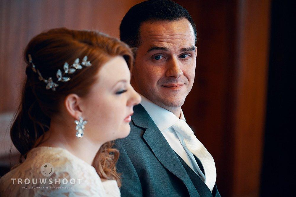 de trouwshoot van Naomi en Maurice