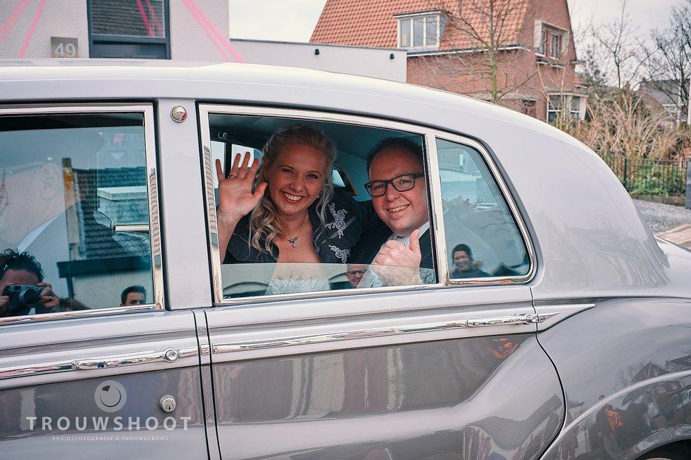 de trouwreportage van Sander en Maud