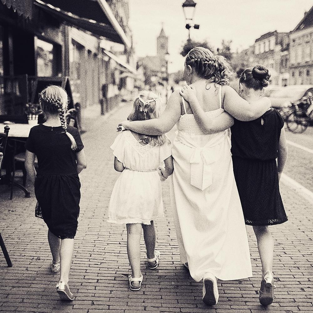 Vintage bruidsfotografie