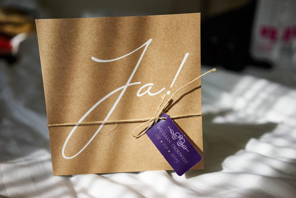 trouwshoot trouwkaart