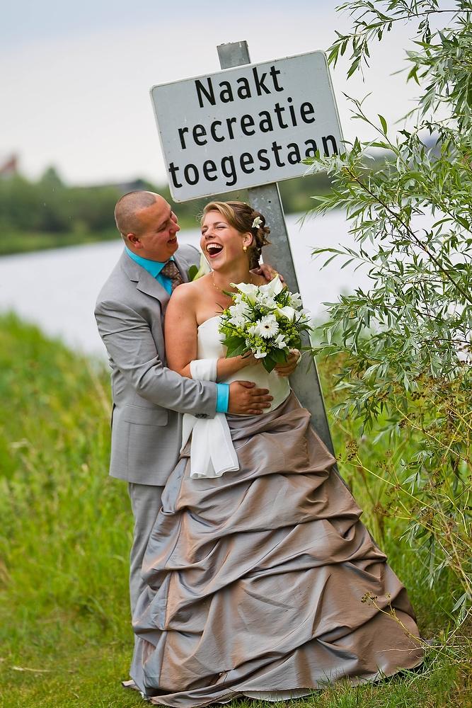 bruidsfotografie bij het Noord AA Zoetermeer