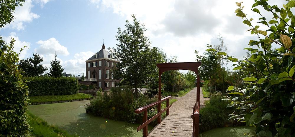 panorama Huygens Hofwijck - Voorburg