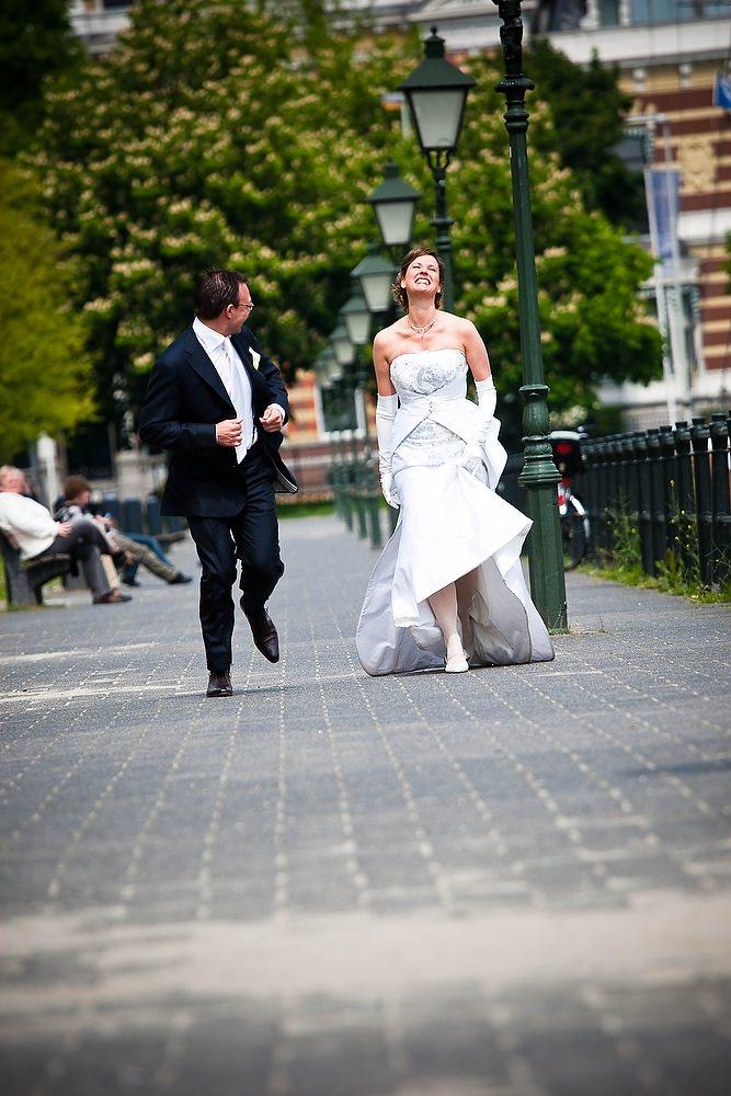 trouwshoot trouwreportage in de haven van Rotterdam