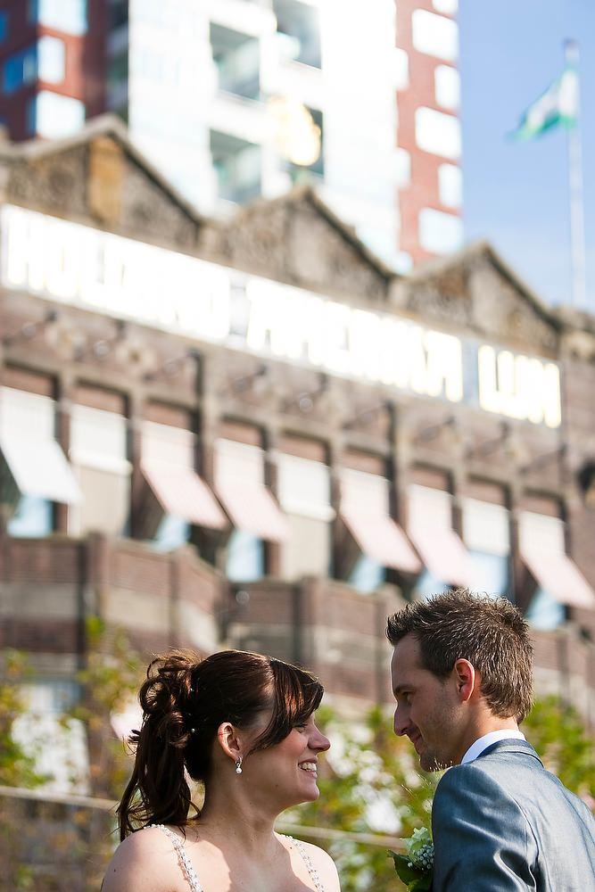 trouwshoot bruidsfotografie bij hotel New York