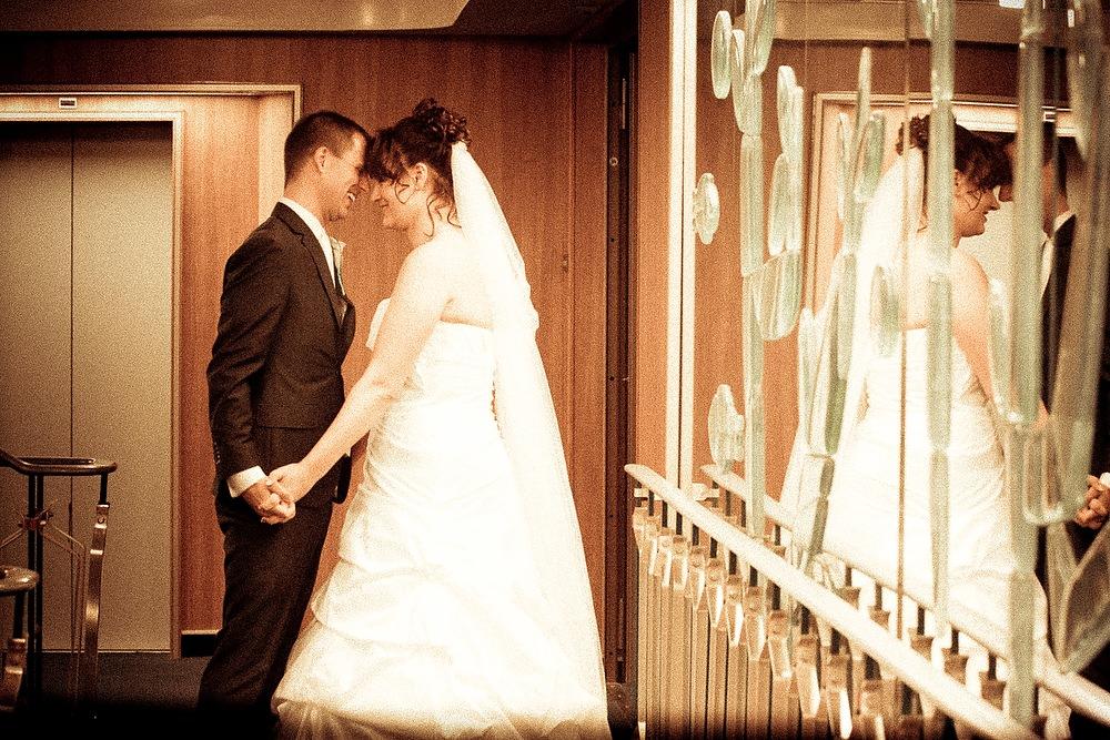 trouwshoot bruidsfotografie in de SS Rotterdam 1