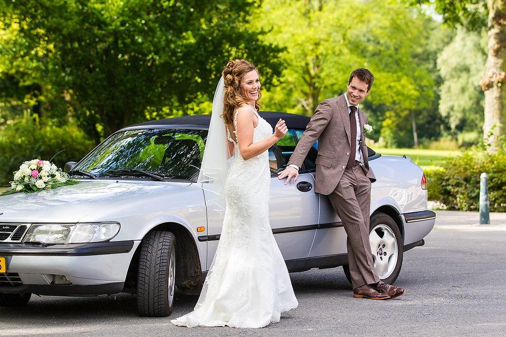 trouwshoot trouwreportage Euromast park