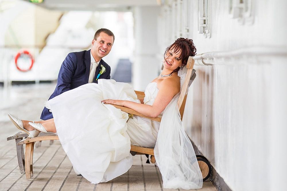 trouwshoot bruidsfotografie in de SS Rotterdam 2
