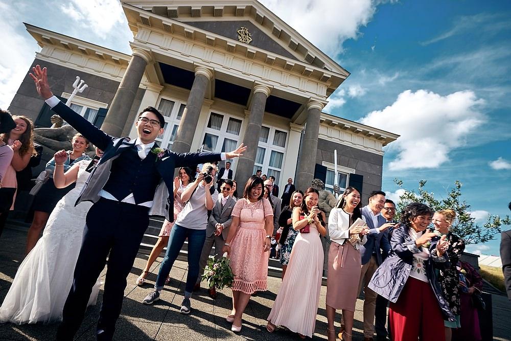 trouwshoot bruidsfotografie Scheveningen
