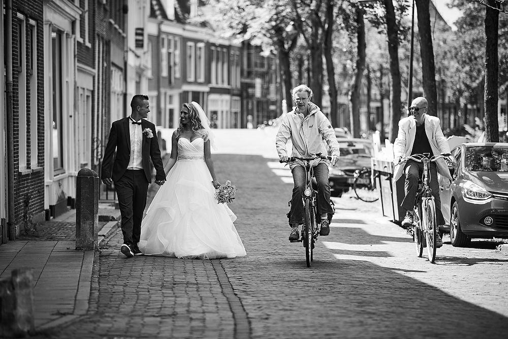 bruidsfotografie Delft centrum