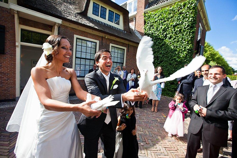 bruidsfotografie zoetermeer Hofstede Meerzigt