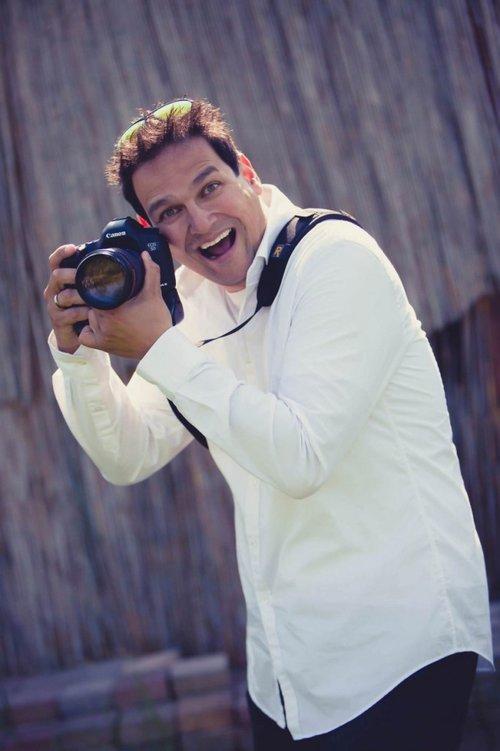 trouwfotograaf Stefan Segers aan het werk
