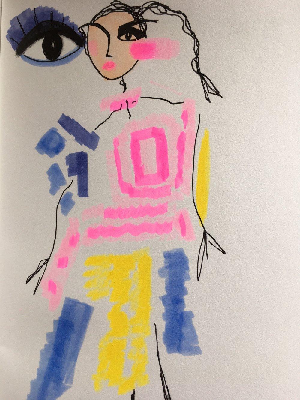 Preen a la Picasso