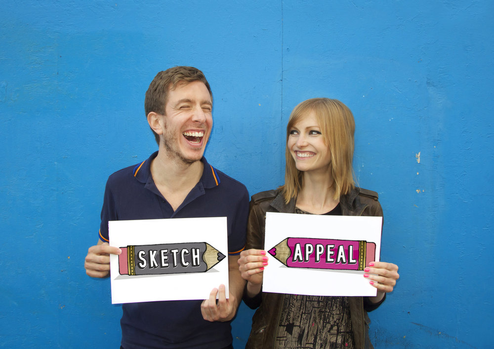 Game sketch match! - Sketch Appeal heads to The Doodle Bar! Book now