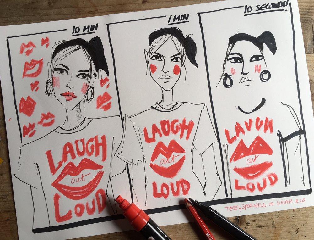 LOL speed sketch